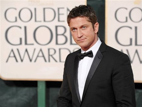 Gerard Butler Picture at the Goden Globe Award 2009
