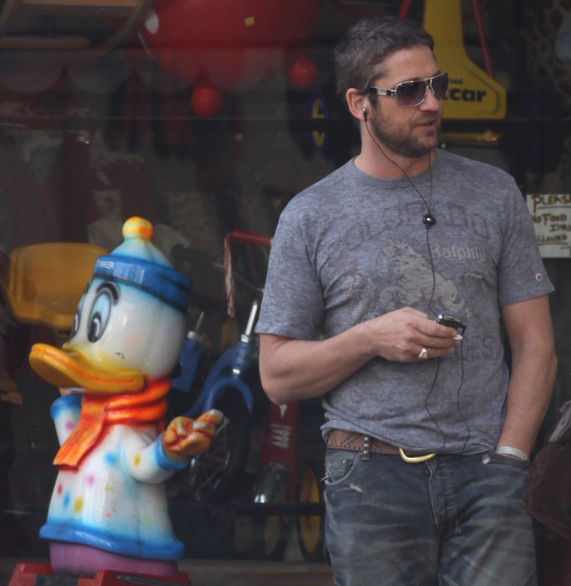 Gerard Butler in Beverly Hills California, Monday 1st February 2010
