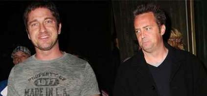Gerard Butler and Matthew Perry