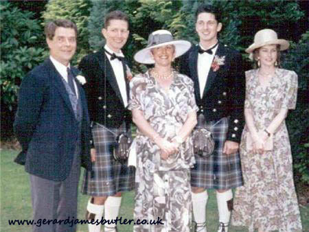 Gerard Butlers family